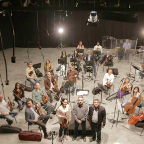 Orquesta para Film Scoring - Foto por Daniel Rodríguez
