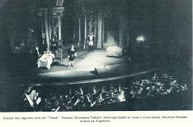 Ópera Tosca, Caracas 1972 - Orquesta Sinfónica de Venezuela