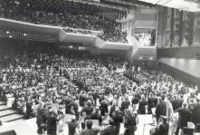 Concierto inaugural del Teatro Teresa Carreño, Caracas 1983. Orquesta Sinfónica de Venezuela