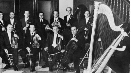 Músicos fundadores Orquesta Sinfónica de Venezuela - años 30