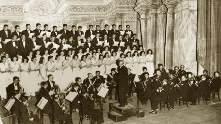 Concierto inaugural de la Orquesta Sinfónica de Venezuela en 1930