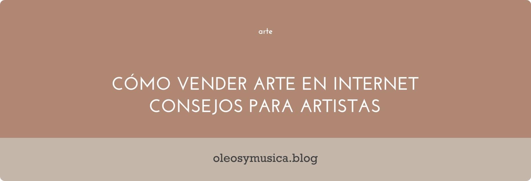 vender arte internet - oleos y musica