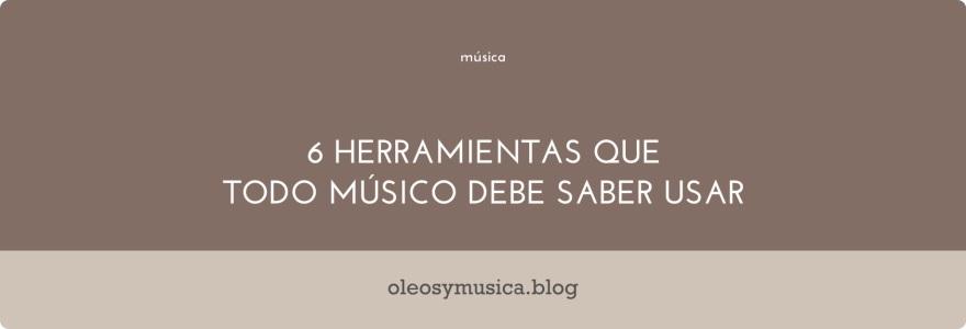 musicos herramientas - oleos y musica