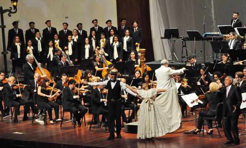 Billo Frómeta y la Orquesta Sinfónica deVenezuela