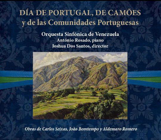"Disco ""Día de Portugal"" de Joshua DosSantos"
