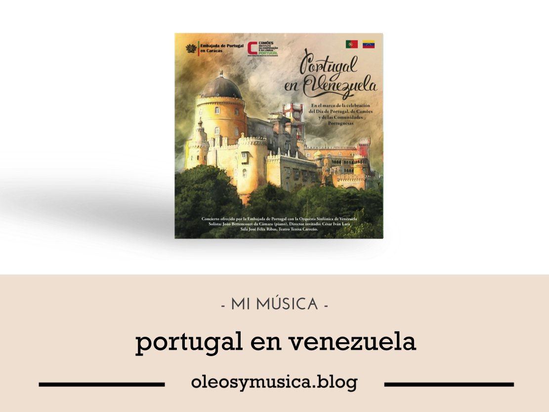 portugal en vzla- CDs-OyM