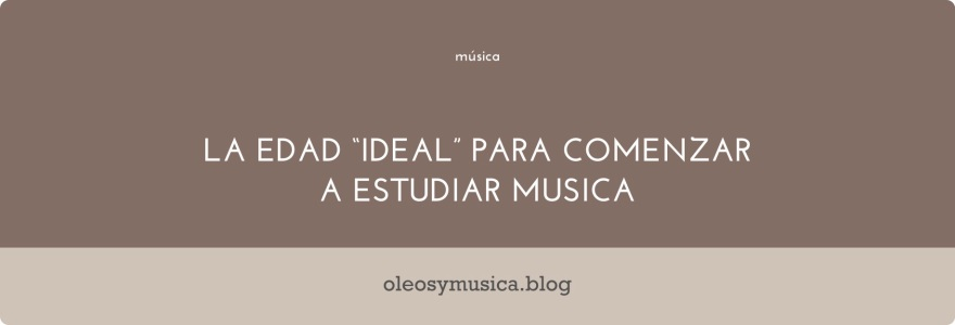 estudiar musica - oleos y musica