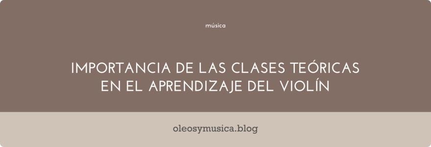 clases teoricas de musica - oleos y musica